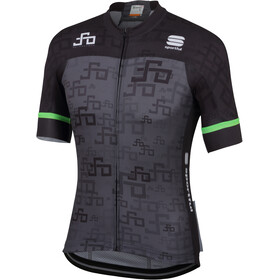 Sportful Sagan Logo Bodyfit Team Jersey Herren grey-green